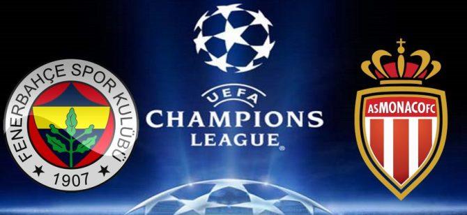 Fenerbahçe-Monaco maçı bugün saat kaçta, hangi kanalda canlı izlenebilecek?