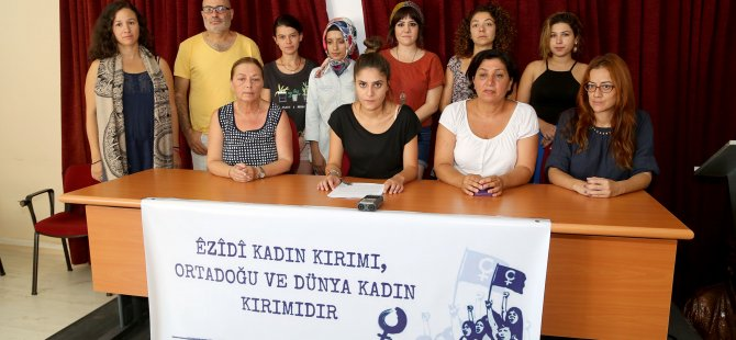 """""""3 Ağustos Kadın Kırımı ve Soykırıma Karşı Uluslararası Eylem Günü olsun"""""""