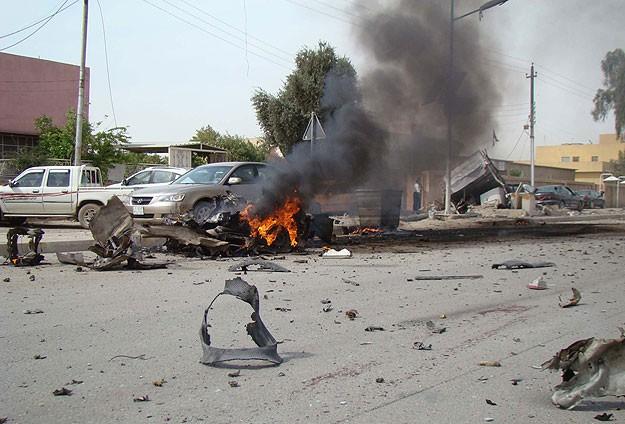 Irak'ta patlama: 12 ölü