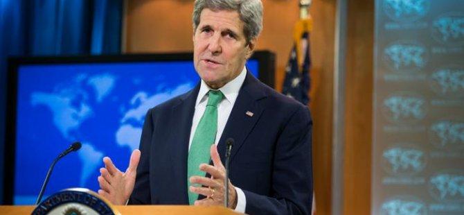 Kerry Türkiye'yi ziyaret edecek
