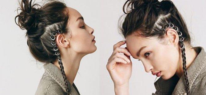 Yeni moda:Saç küpeleri