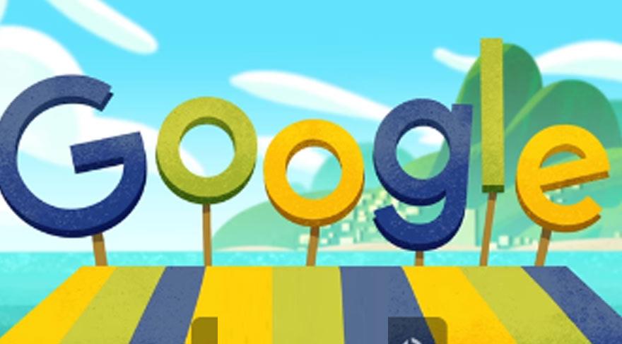 Google Rio Olimpiyatları için doodle yaptı
