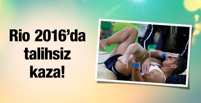 Rio 2016'da Fransız sporcunun bacağı kırıldı