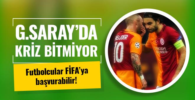 Galatasaray'da kaptanlar FIFA'ya gidebilir