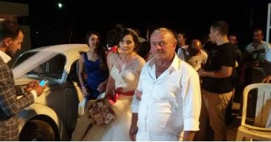 Yenierenköy'de damatsız düğün
