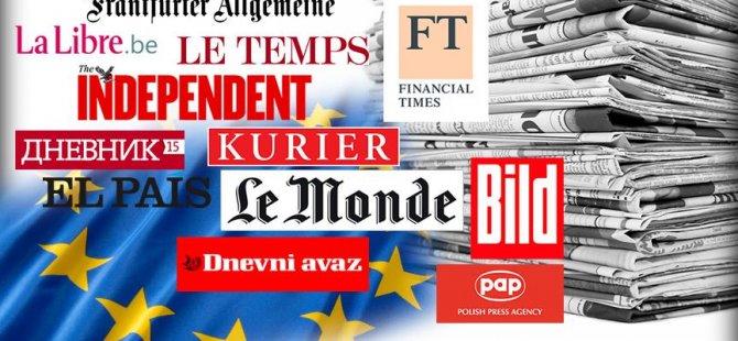 Avrupa basınında Demokrasi ve Şehitler Mitingi