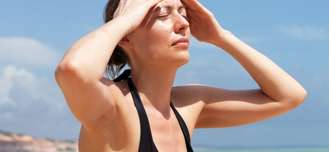 Migren hastalarına 5 yaz önerisi