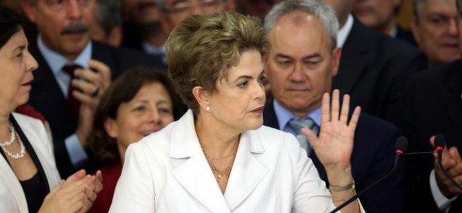 Brezilya'da Rousseff'e mahkeme yolu