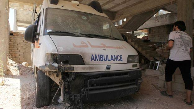 Halep'teki doktorlardan Obama'ya yardım çağrısı