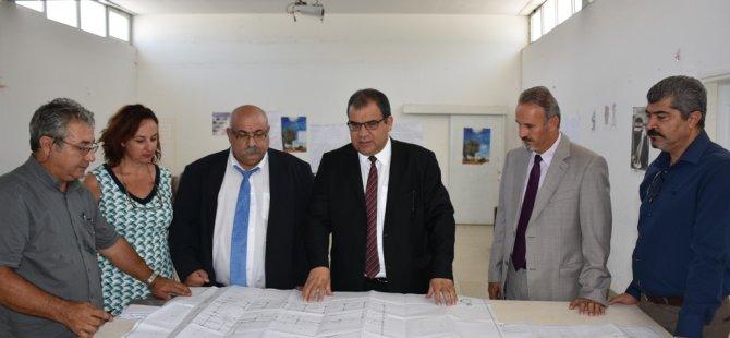 Sucuoğlu, Trenyolu Polikliniği'nde incelemelerde bulundu