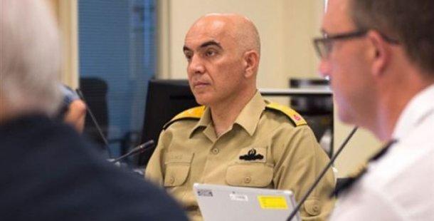 Hakkında yakalama kararı olan Tümamiral Uğurlu, NATO toplantısına katılmış