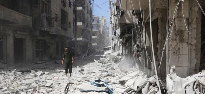 Halep'te klor gazı kullanıldığı iddia edildi