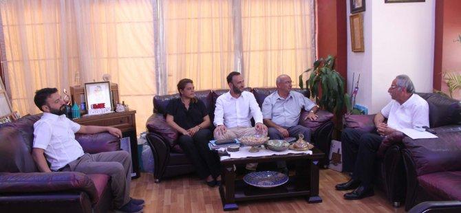 TDP  Girne Belediyesi'ni ziyaret etti