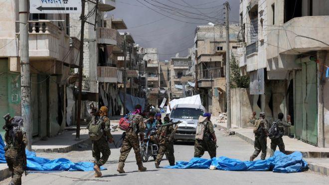 Menbic 'IŞİD'den alındı'