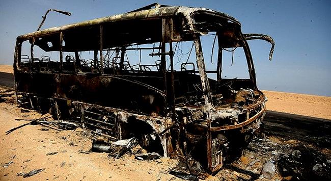 İdlib'de otobüste patlama: 15 ölü, 20 yaralı