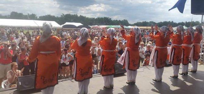 Avrupa'nın en büyük gelenek yaşatıcı etkinliğinde ASAM sahne aldı!