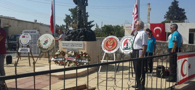 15 asker törenle anıldı