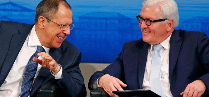 Almanya ile Rusya arasında kriz diyaloğu