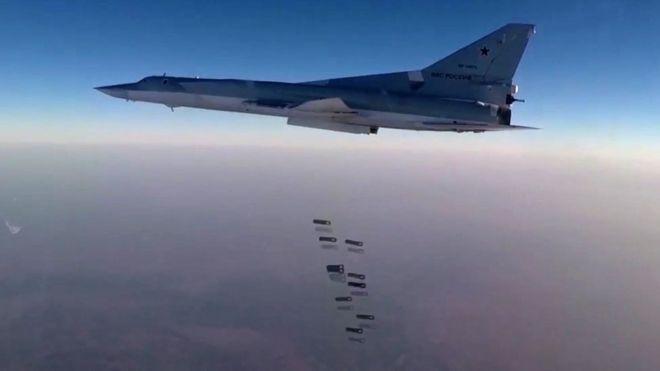 Rus jetleri İran'dan kalkıp IŞİD ve Nusra Cephesi'ni vurdu