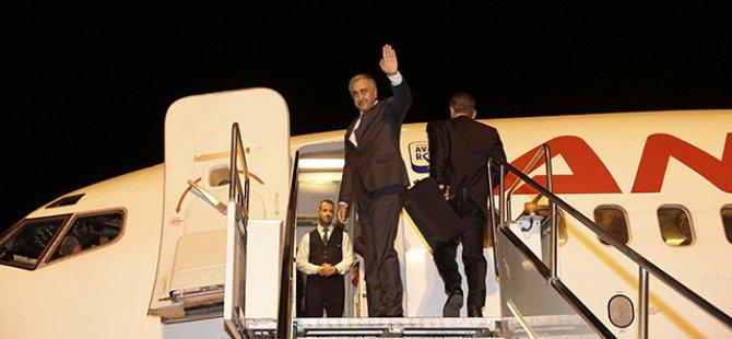 Cumhurbaşkanı Akıncı İstanbul'da