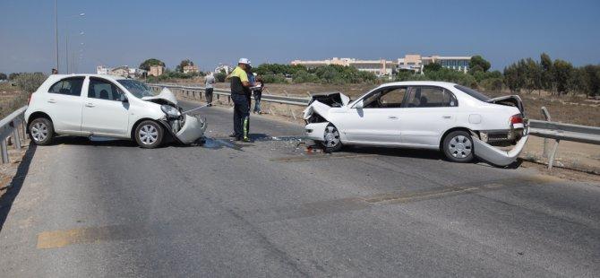 Gazimağusa'da ölüm virajında bu kaçıncı kaza?