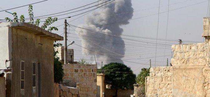 Rusya ve Suriye'ye yangın bombası suçlaması