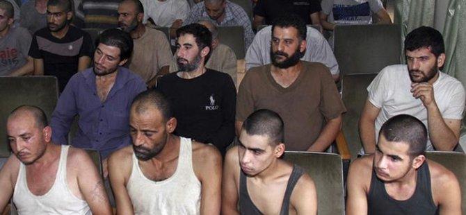 Suriye hapishanelerinde 18 bine yakın tutuklu öldü