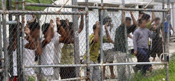 O ülke sığınmacı kampı'nı kapatıyor