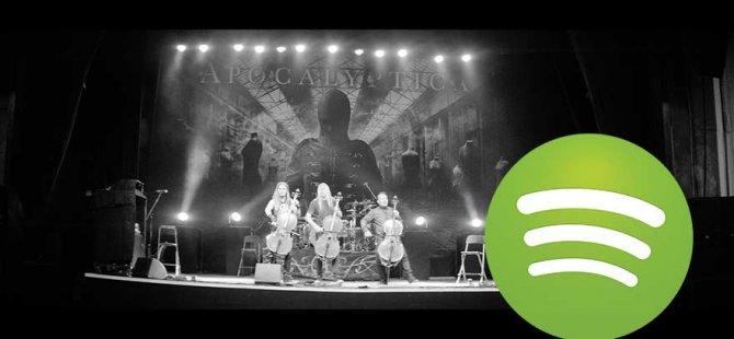 Spotify'dan bir ilk: Metallica belgeseli