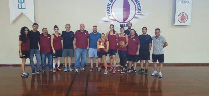 Yakın Doğu Üniversitesi Kadın Basketbol Takımı  41. Antrenmanına Çıktı…