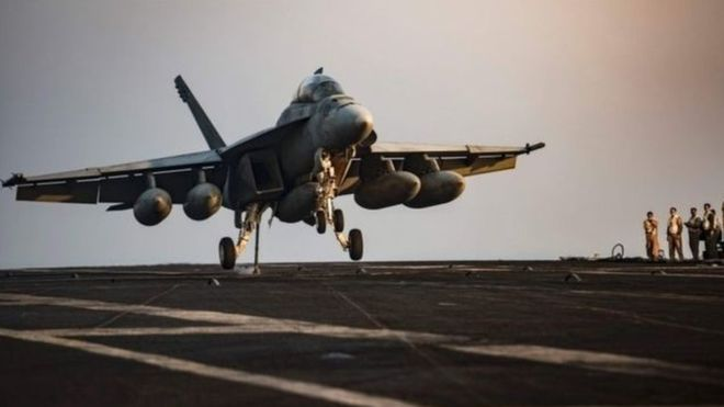 ABD Haseke'ye savaş uçaklarını gönderdi