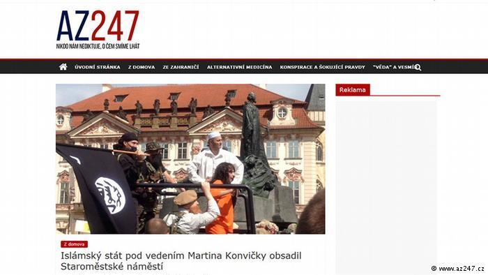 Prag'da temsili 'IŞİD işgali' panik yarattı
