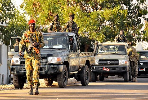 Güney Sudan'da Eyalet valisi BM misyonuna sığındı
