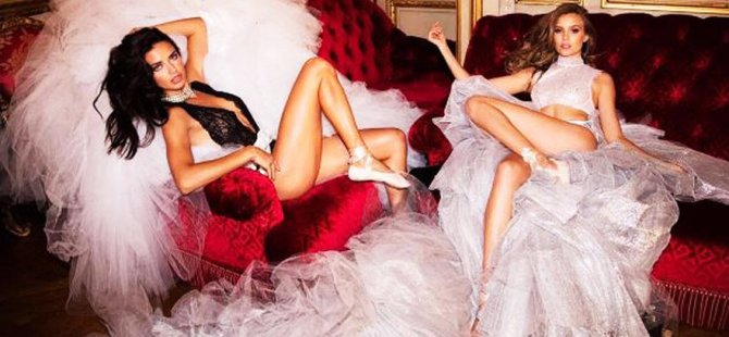 Victoria's Secret modellerinden yeni kampanya
