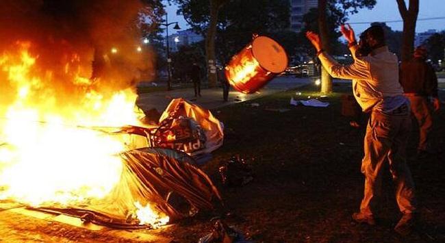 Taksim'de Suç Zabıtaya Yüklendi