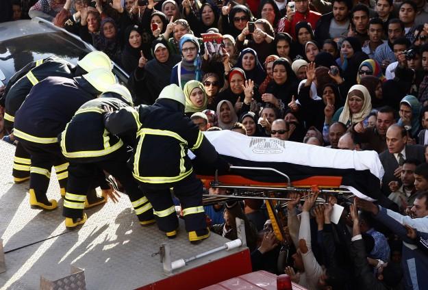 Dekahliye'de ölenler için cenaze namazı