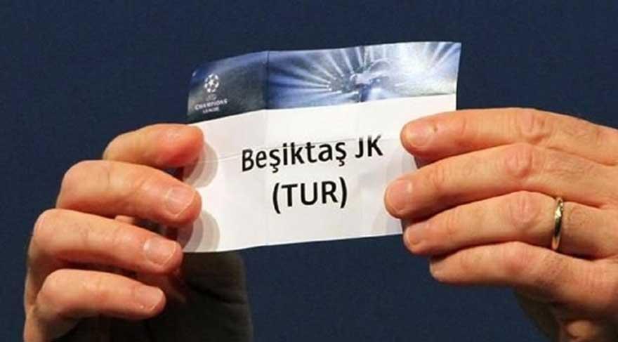 Beşiktaş 4. torbada yer alacak