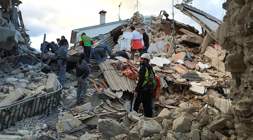 Son dakika… İtalya'da şiddetli deprem!