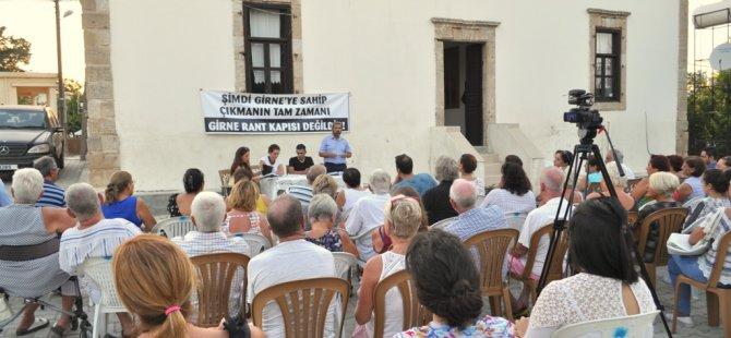 Girne İnisiyatifi bölge toplantıları sürüyor