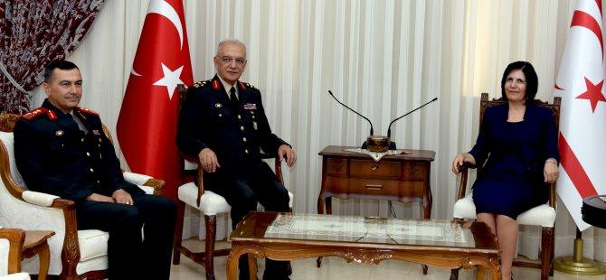 Meclis Başkanı Siber, komutanları kabul etti