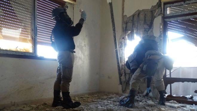 BM: Suriye'de Esad rejimi ve IŞİD kimyasal silah kullandı