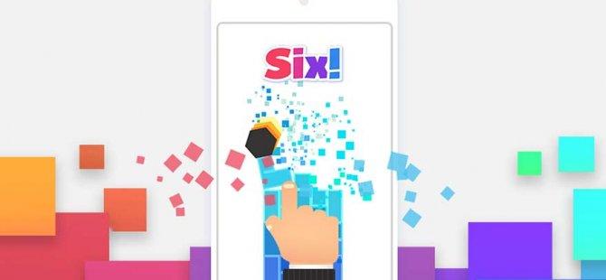 Yeni bir mobil oyun yayınlandı: Six!