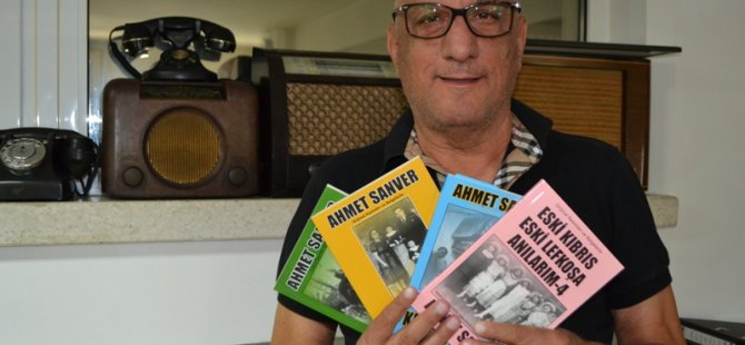 Ahmet Sanver'in 'Eski Kıbrıs' anı kitaplarının dördüncüsü çıktı!