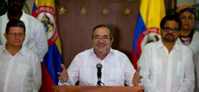 Kolombiya'da FARC'tan nihai ateşkes