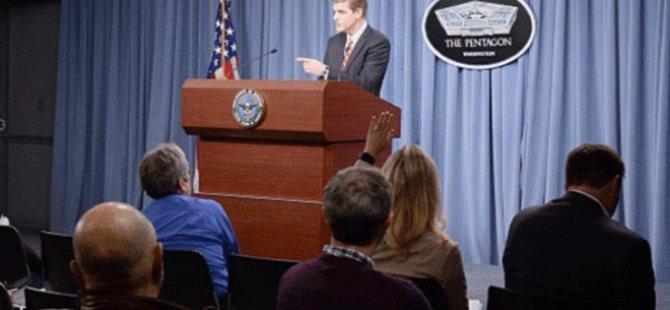 Pentagon: Cerablus'da IŞİD'in olmadığı alanlarda çatışma kabul edilemez