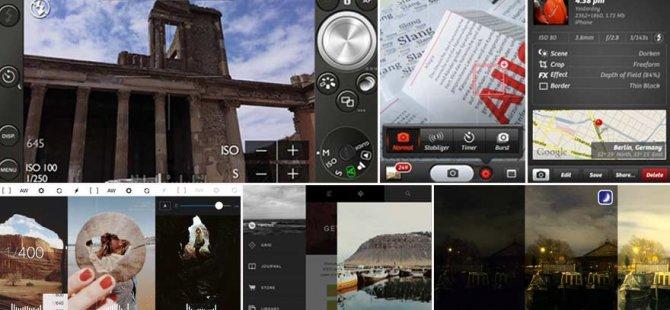 En iyi 10 iPhone kamera uygulaması