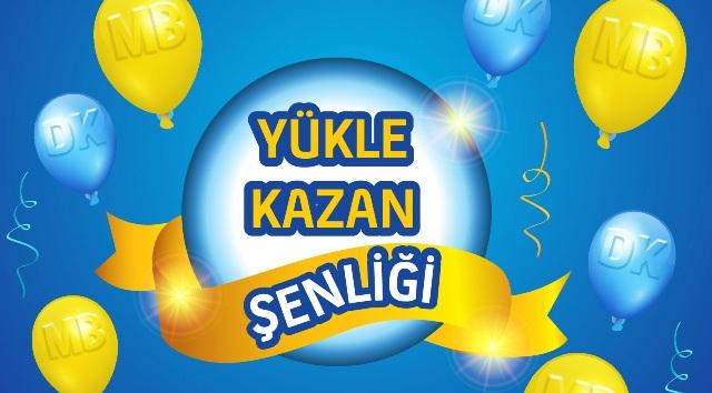 Kuzey Kıbrıs Turkcell'den kontör yüklemelerinde ''Yükle Kazan Şenliği''