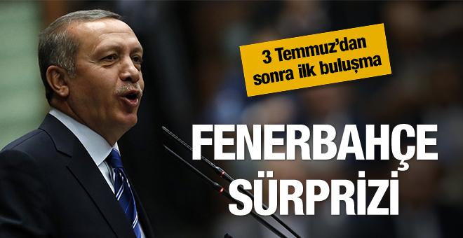 Cumhurbaşkanı Erdoğan'dan Fenerbahçe sürprizi
