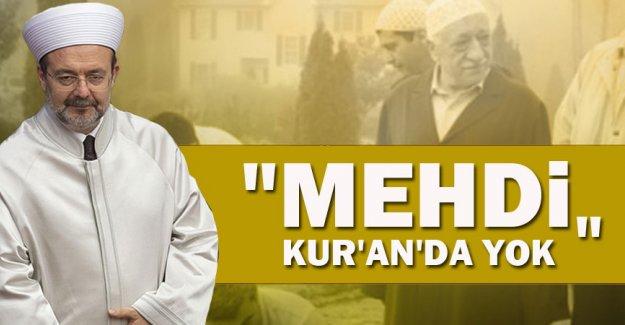 Mehdi Kur'an'da yok