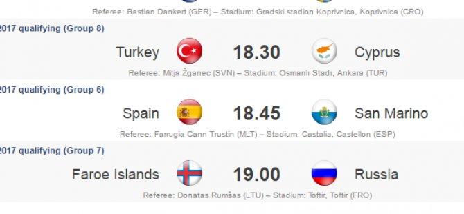 Türkiye-Kıbrıs Cumhuriyeti milli maçı 1 Eylül'de Osmanlı Stadı'nda oynanacak